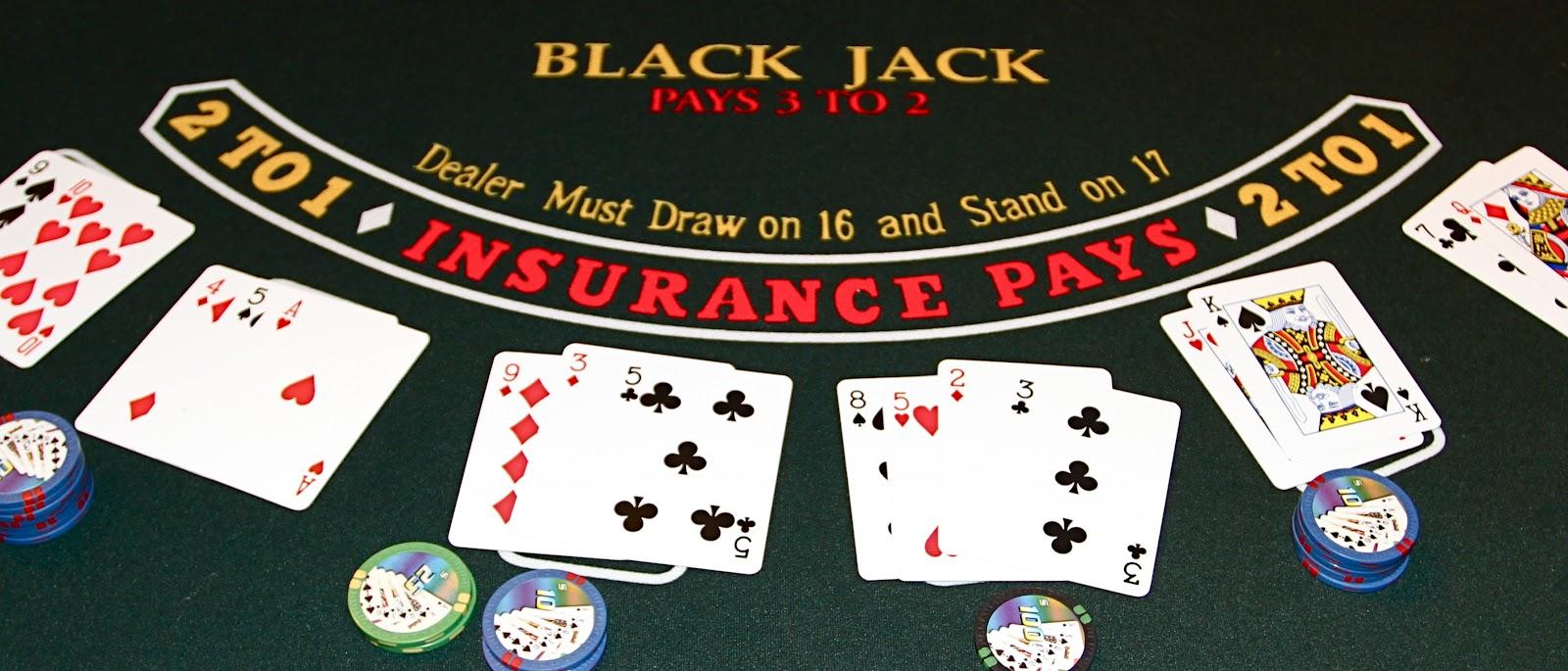 Blackjack, le fameux jeu de casinos en ligne