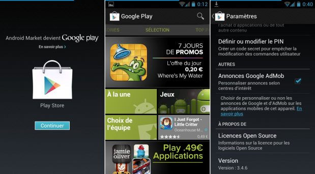 Comment installer google play store sur tablette ?